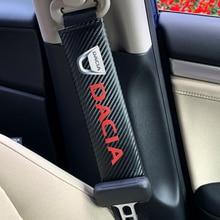 Накладка для ремня безопасности автомобиля для Dacia Duster Logan Sandero 2 Mcv Sandero автомобильные аксессуары для интерьера
