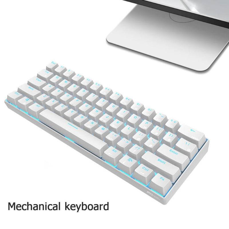 Image 4 - VODOOL RK61 Wireless Bluetooth Mechanical Gaming Keyboard Backlight Gaming Keyboard Ergonomics Office Computer Components newst-in Keyboards from Computer & Office