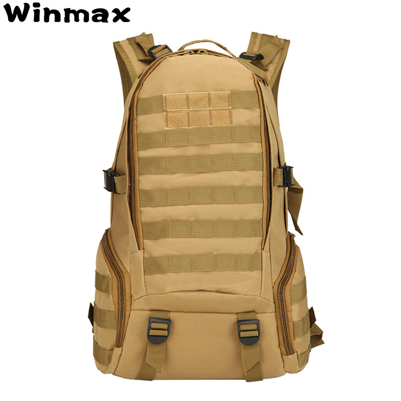 40L 3P Tactical Backpack Military Bag Army Camping Men Tactical Bags Molle Cycling Hiking Outdoor Sports Climbing Backpack Bags promotional camping bags unisex outdoor waterproof molle bagpack military 3p tactical backpack big assault travel bag packsack