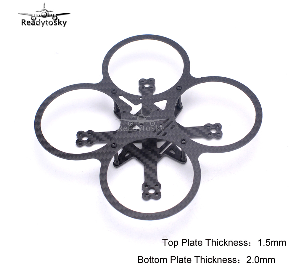 Mini MD90 90mm MD 90 Full carbon fiber Top plat 1.5mm * Bottom plat 2.0mm for FPV Racing Drone quadcopter kit кувалда truper md 6f 19884