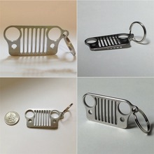 Stainless Steel Key Chain For Jeep