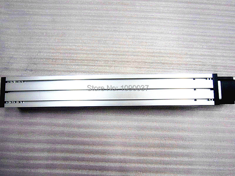 T8 * 8 T-type Screw Linear Slide Stage X Y Z Axis Sliding Table Module Effective Stroke 200mm+ Nema23 Stepper Motor t8 2 t type screw linear slide stage x y z axis sliding table module effective stroke 300mm nema23 stepper motor