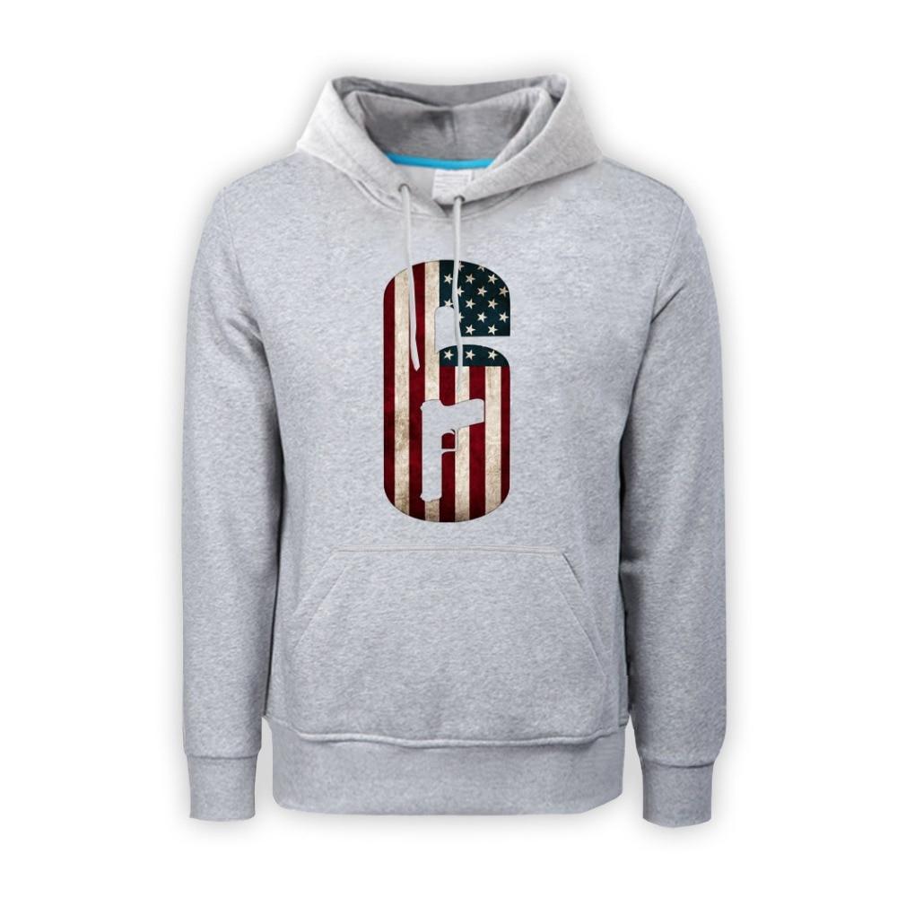 BFJ Tom Clancys The Division Logo Hoodie Long Sleeve Zip Up Sweatshirts