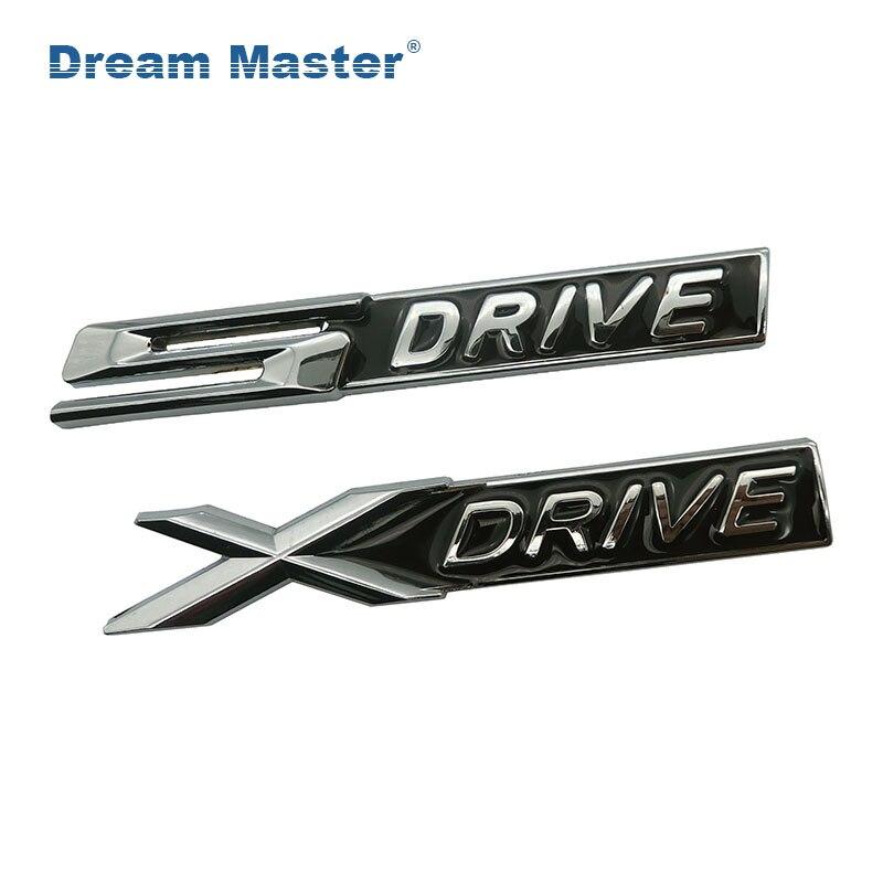 Metal EDRIVE E DRIVE Car Body Fender Trunk Sticker Badges Emblem Decal for BMW