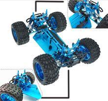 RC 1/10 Off Road HSP 94111 PRO 1:10 รีโมทคอนโทรลสี่ล้ออัพเกรดแพคเกจสีฟ้า