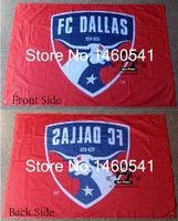 FC Dallas Flag 3ft x 5ft Polyester MLS FC Dallas Banner Flying Size No.4 144* 96cm QingQing Flag