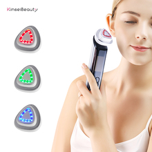 Fashion RF Facial Machine Portable EMS Beauty for Skin Rejuvenation Wrinkle Removal Tightening Anti Aging Therapy