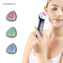 Fashion RF Facial Machine Portable EMS Beauty for Skin Rejuvenation Wrinkle Removal Skin Tightening Anti Aging Therapy portable rf skin tightening facial machine for home use