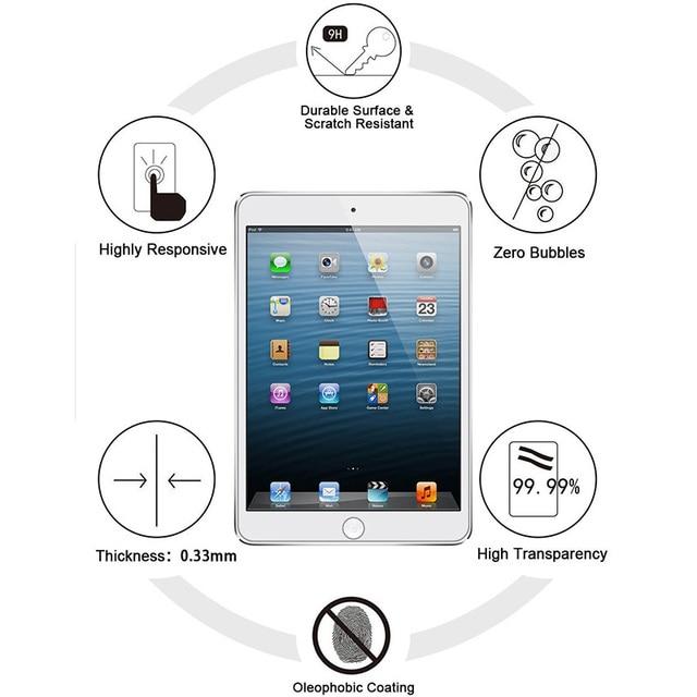 Фото 9h премиум протектор экрана для ipad mini 4 закаленное стекло