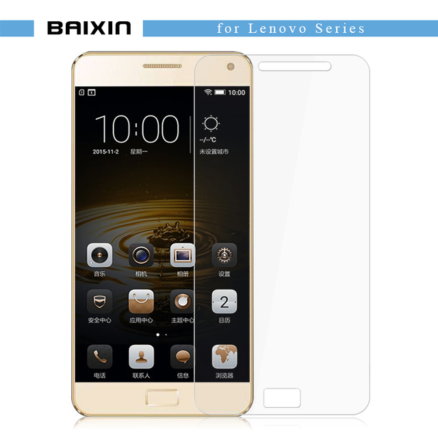 baixin Tempered Glass screen protector for Lenovo p70 K3 k4 k5 Note A536 a5000 S90 z90 vibe X2 Anti-Explosion Protective Film