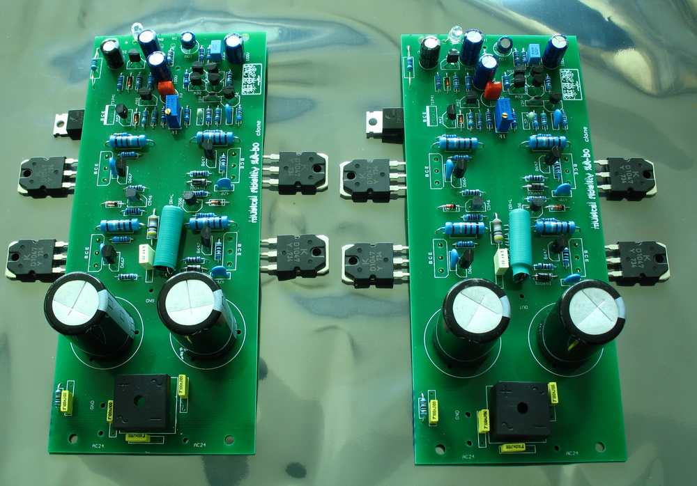 X-A50 AMP board HIFI KEC D1047 tube Audio Stero Power amplifier board ( finished , include 2 boards) 2sd1047 2sb817 d1047 b817