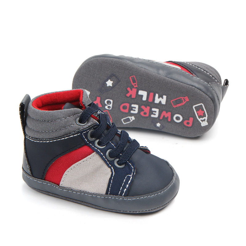 7731a28882069a 2019 Fashion Baby Boys Casual Shoes Newborn Booties Soft Sole Shoes ...