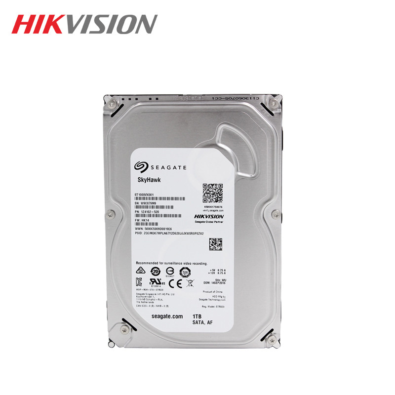 все цены на Seagate 1TB hikvision Video Surveillance HDD Internal Hard Disk Drive 5900 RPM SATA 6Gb/s 3.5-inch 64MB Cache  HDD For Security онлайн