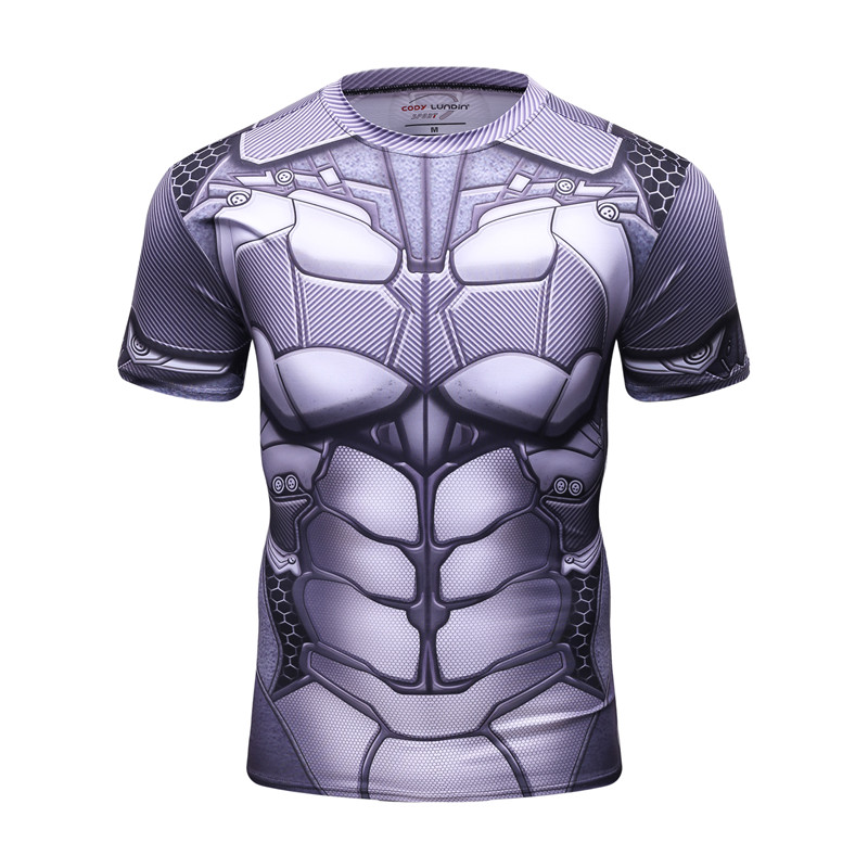 2018 28 Style New Ultraman 3D Printing Men's T-Shirt Fashion Summer Short Sleeve Sportswear Elasticity Man Tracksuit Tops Sweats