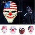 2017 Máscara Del Partido MasquWholesale PVC Scary Máscara de Payaso Máscara de Halloween Para La Fiesta de día de Pago Mascara Carnaval Envío Gratis