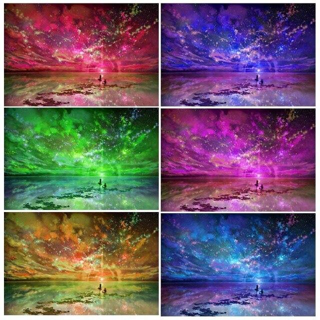 5D DIY Полная квадратная Алмазная картина мозаика любовь небо Алмазная вышивка крестиком домашний Декор подарок