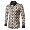 2017 Spring  Men's Plaid  Design  Long Sleeve  Shirt Homme Slim Fit Style  Chinese Size M-3XL
