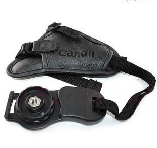 Camera bag Leather Hand Grip Strap Camera strap wrist triangle belt for  600D 650D 500D 550D 50D 60D 1100D 5D2 5D3 1200D 7D 1dx