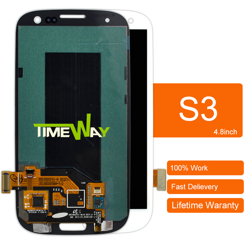 AAA Dhl 10pcs New Sale For Samsung S3 Siii I9300 Lcd Screen Digitizer Assembly Limited