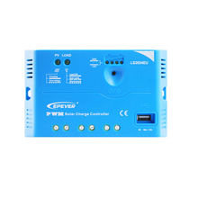 1pc x 20A LS2024EU EP EPEVER PWM LandStar Solar system Kit Controller Regulators With 5V USB