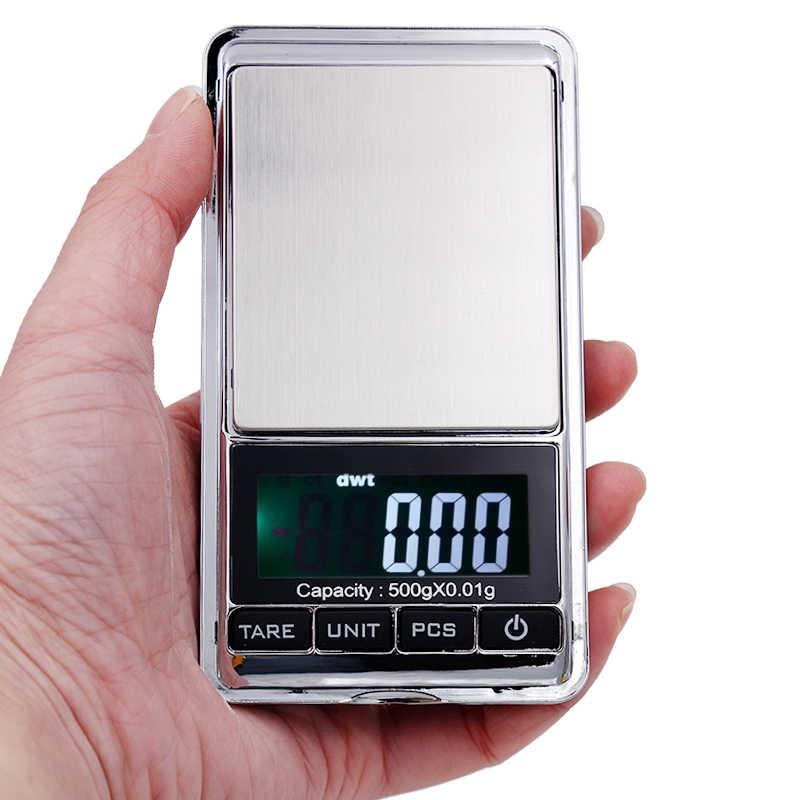 Электронные весы с ЖК-дисплеем, электронные весы 500 г 0,01 г драгоценного золота, скидка 30%