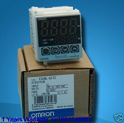 Omron Temperature Controller E5CWL-Q1TC 100-240VAC New in Box