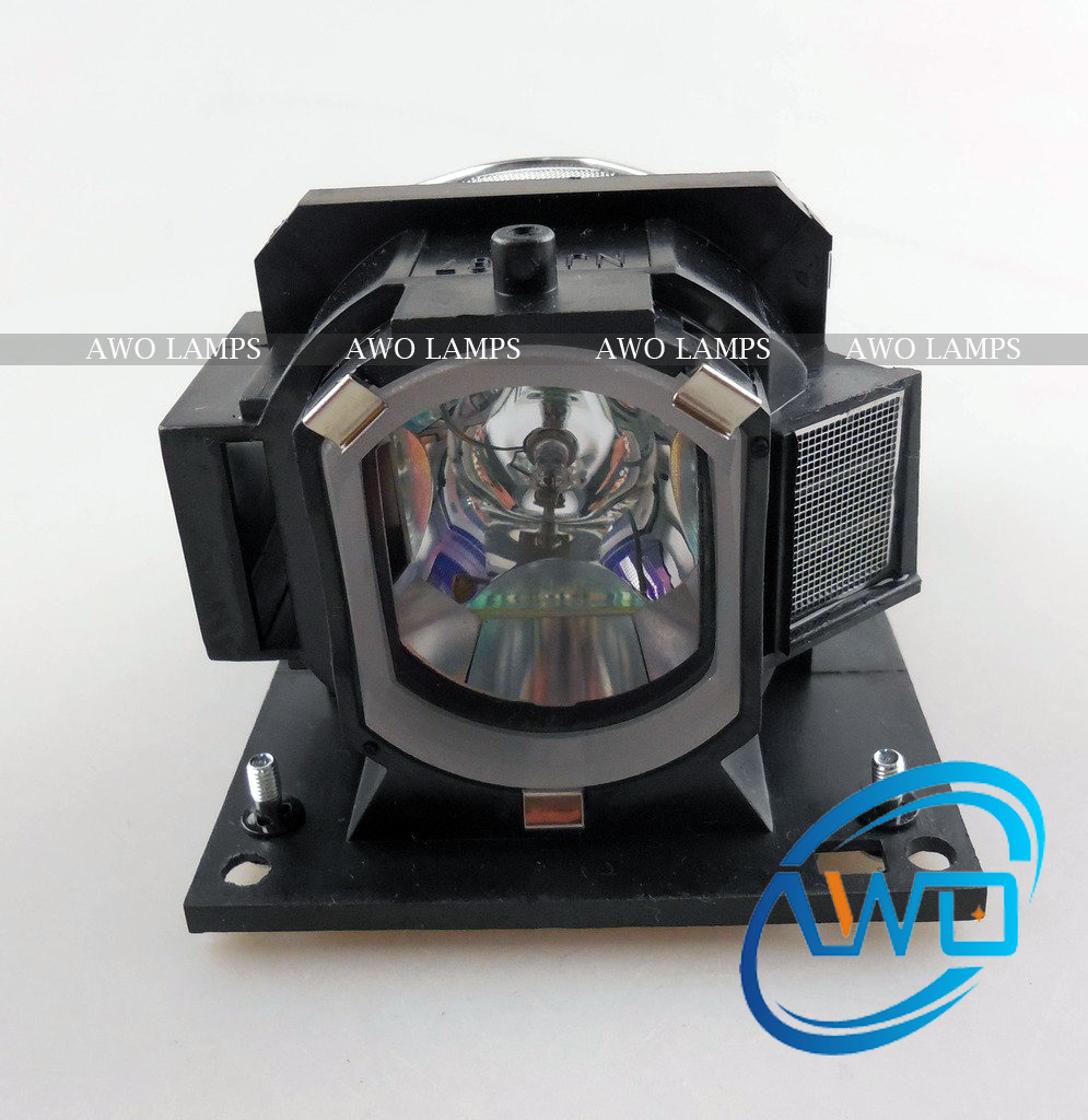 AWO High Quality Replacement DT01431 Projector Lamp for HITACHI CP-X2530WN/CP-X3030WN with Brand New Housing