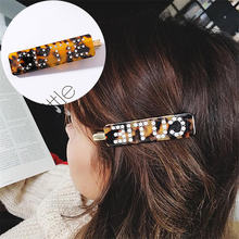 Женские заколки для волос ajojewel с милыми буквами и леопардовым