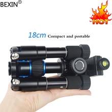 Bexin Lightweight Camera Tripod Aluminum Desktop Compact Mini Tripod with swivel Ball Head for Sony Canon Nikon DSLR Cameras