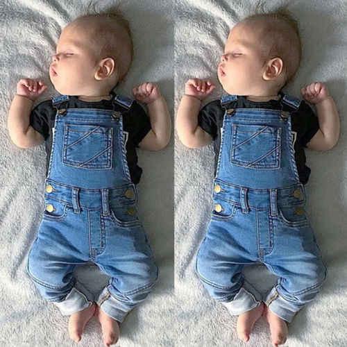 Nowe mody dziewczynek dżinsy kombinezony maluch pończoch spodnie z kieszenią dzieci dzieci dżinsy kombinezon kombinezon Playsuit