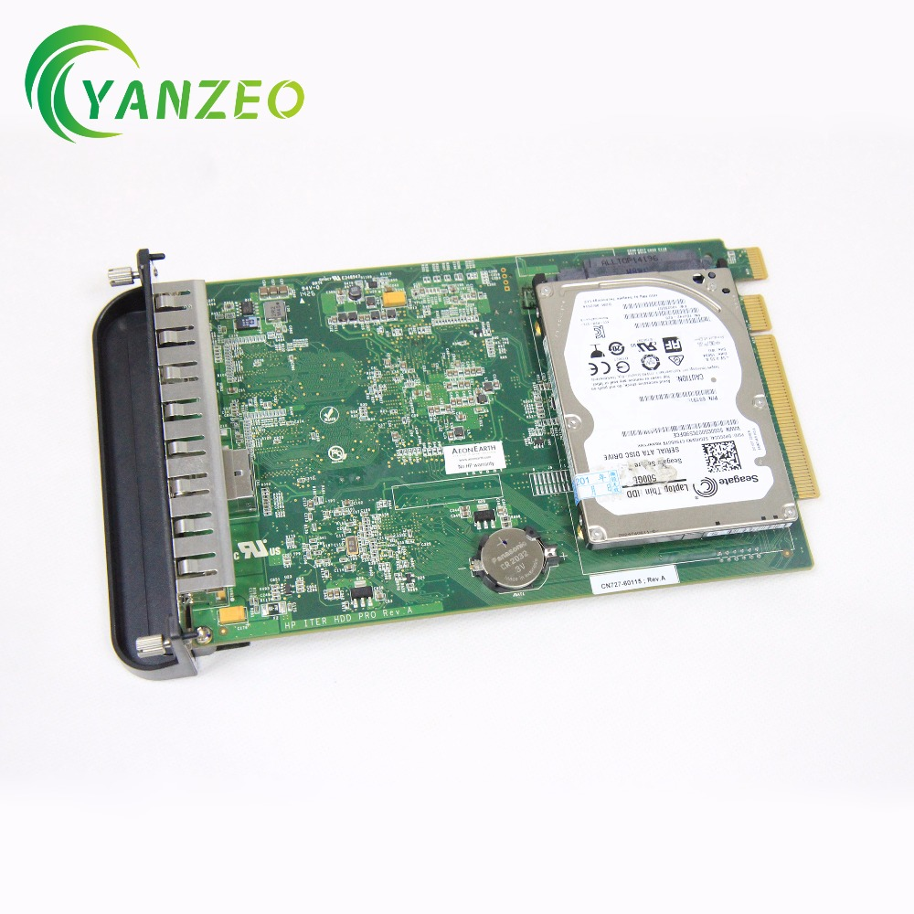 CN727-67035 for HP Designjet T790 T1300 T2300 Included HDD Disk Formatter Board formatter board cn727 67035 cn727 60115 for designjet t790 t795 t1300 t2300 t790ps t795ps t1300ps main board plotter ink parts