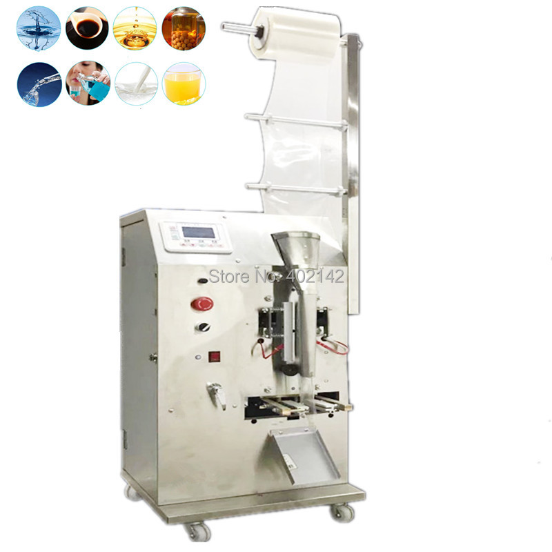 2 100ml Professional Fully Automatic Liquid Sachet Pouch Packing Machine