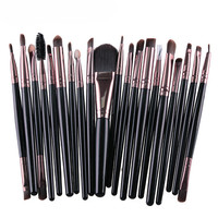 Hot Sale 20 pcs Makeup Brushes Set tools Make-up Toiletry Kit Wool Make Up Brush Set Goat Hair Cosmetic Beauty Pincel Maquiagem Health & Beauty