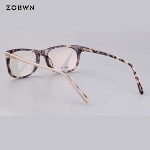 Image 3 - แฟชั่นคุณภาพสูงกรอบแว่นตาคอมพิวเตอร์ Prescription สายตาสั้นแว่นตาแว่นตาแว่นตาสีกากีรอบแว่นตา cat eye