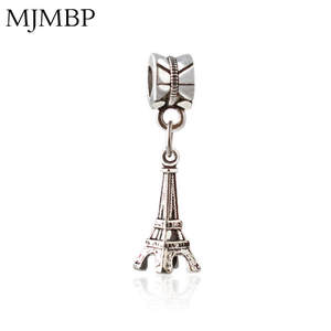 MJMBP Eiffel Tower DIY Pendant Charms Jewelry making Women