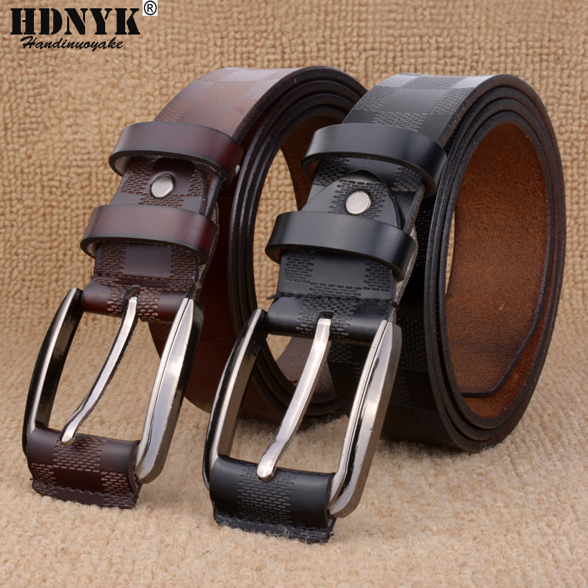 Hot Sale Men Belt Low Price Strap Belt For Men Genuine Leather Pin Buckle Belt Brand Designe Unisex Waistband