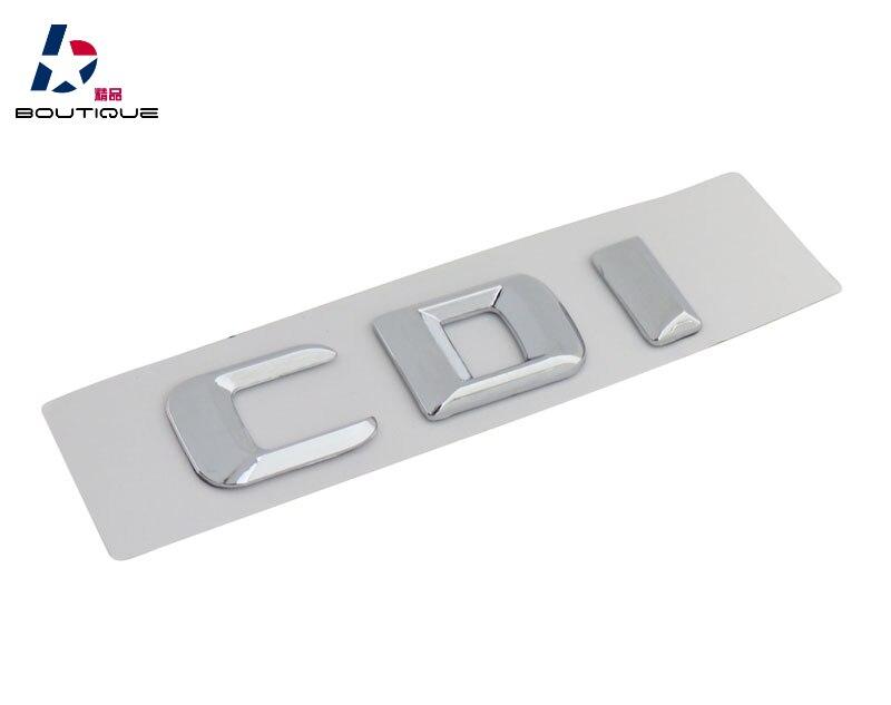 Badge autocollant chromé demblème de coffre   Pour GLA G55 SL C63 E63 ML63 CLS63