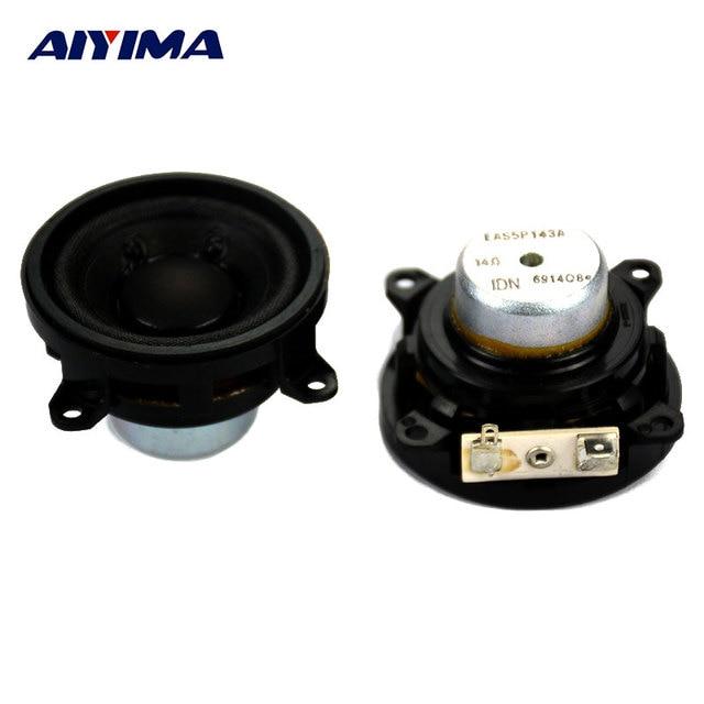 AIYIMA 2Pcs 2Inch Audio Portable Speakers Neodymium Full-range Speaker From IDN For Panasoic