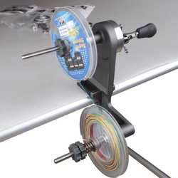 Daiichiseiko Pesca con La Lenza Winder Reel Spool Spooler Sistema Regolabile per La Filatura O Baitcasting Della Bobina di Pesca Avvolgimento Bordo