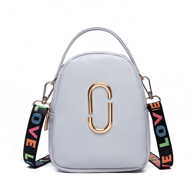 CHARA'S Brand Fashion Women's Shoulder Bags Colorful Flap Mini Messenger Bag Student Girl Phone Clutch 2019 Spring New