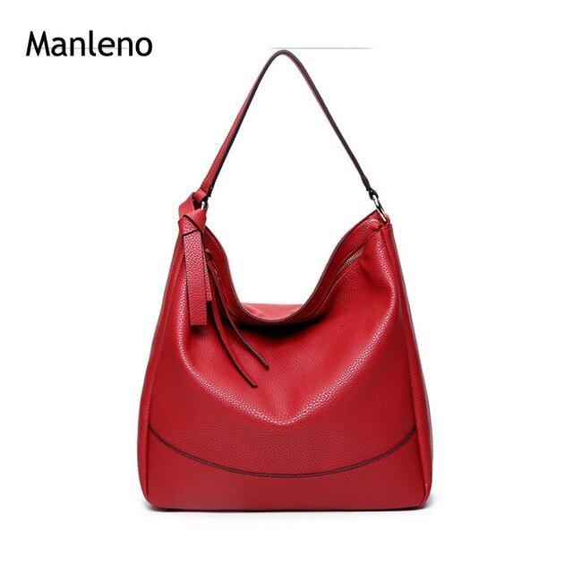 aa2e8fdb80 Hot Women Handbags and Purses Big Hobo Bag Ladies Designer Women Bags 2016 Female  Tote Leather