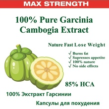 3 packs 180 pieces Pure Garcinia cambogia extracts Nature fast weight loss diet Burn Fat 85% HCA Slimming for women