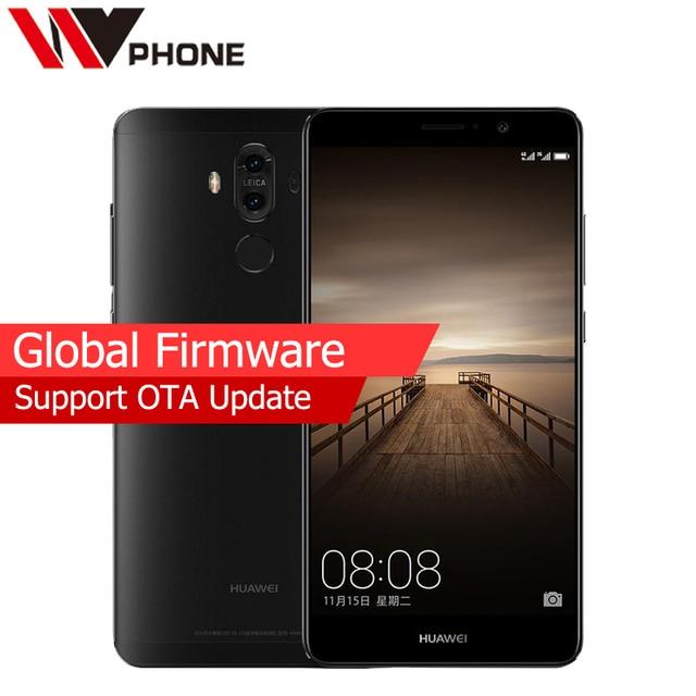 "Original Huawei Mate 9 4G LTE Mobile Phone Octa Core 4/6GB RAM 64GB ROM 5.9"" HD Android 7.0 Fingerprint ID SmartPhone"