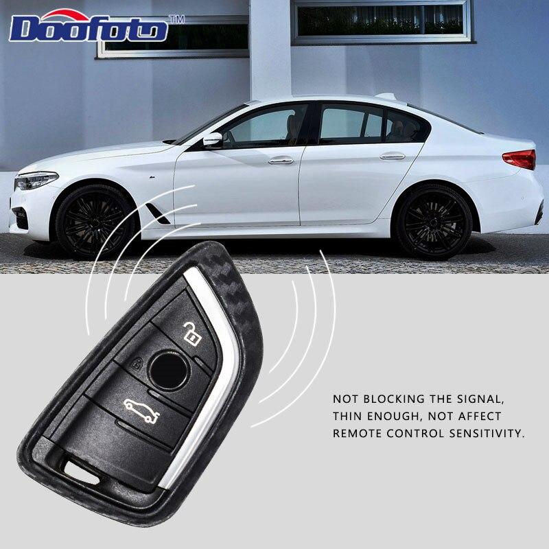 Carbon fiber key cover for BMW  (16)