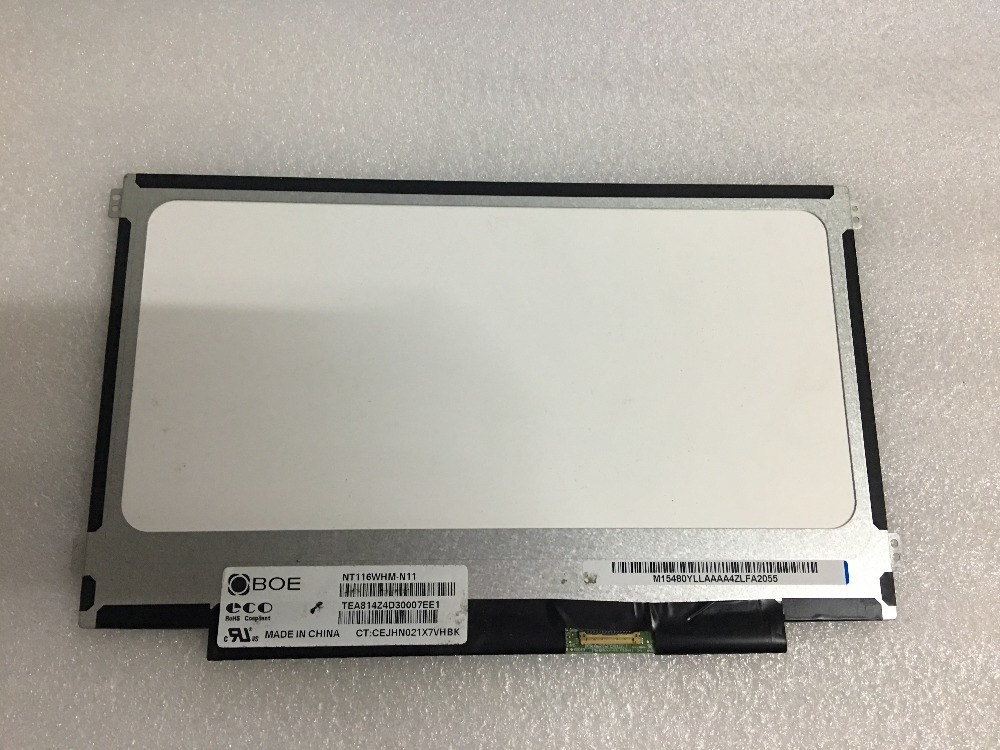 For HP CHROMEBOOK 11 G5 LED LCD Screen Display 1366x768 Matrix For Laptop 762229-007 Replacement 11.6