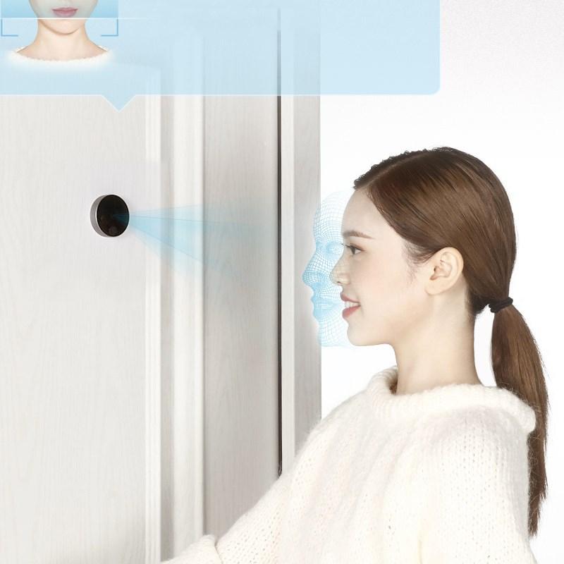 Image 2 - Stock Youpin Luke Smart Door Video doorbell Cat Eye Youth Edition CatY Gray For Mijia App Rechargable IPS Display Wide AngleSmart Remote Control   -