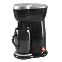Mini máquina de café único copo máquina de café expresso casa elétrica automática (plug ue) Cafeteiras     -