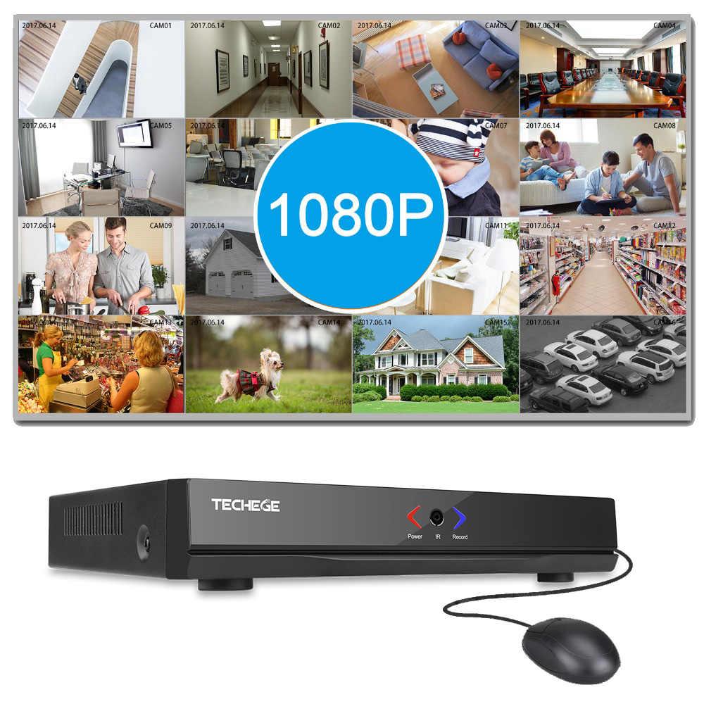 Techege Nieuwe Mini Nvr 4CH 8CH Full Hd Nvr 1920*1080P P2P Onvif 2.0 Voor Ip Camera Hdmi netwerk Video Recorder