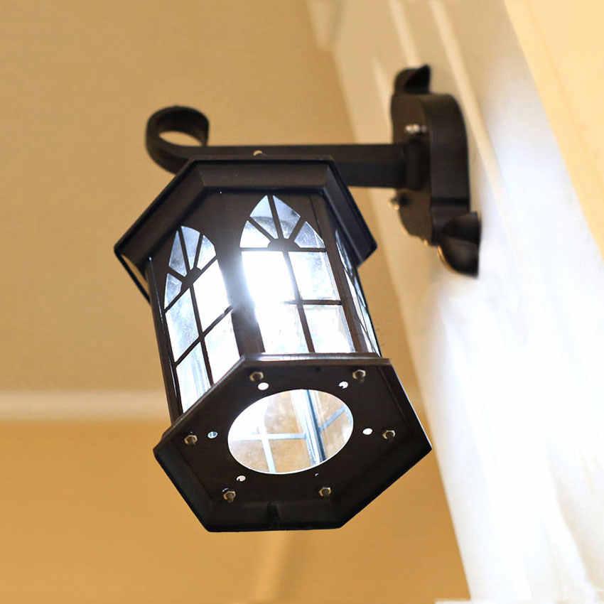 Lámparas de pared europeas, candelabro impermeable para exteriores, iluminación para balcón mediterráneo, accesorio de iluminación para jardín, WCS-OWL009