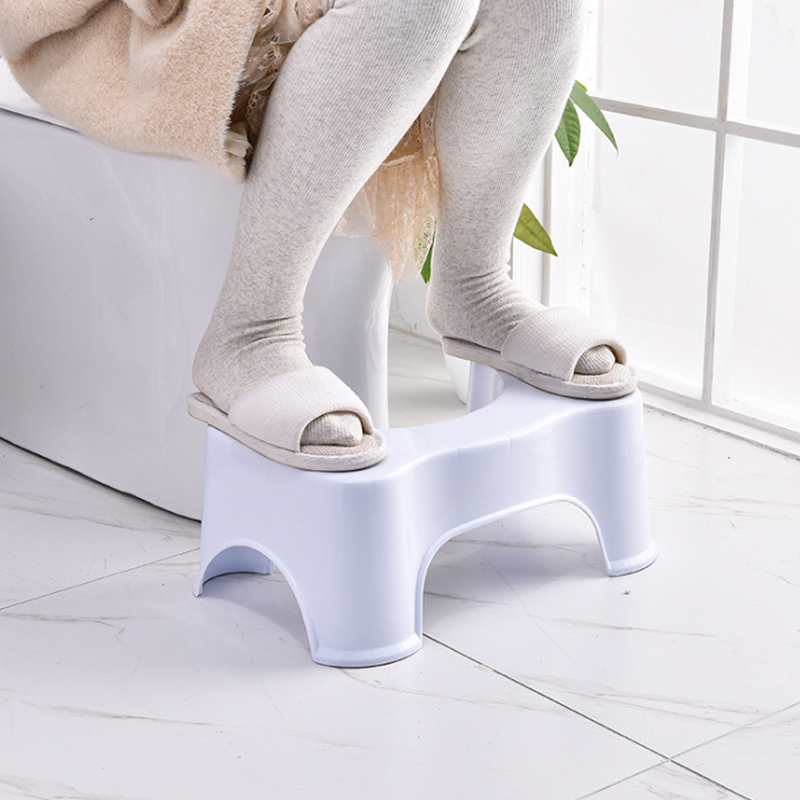 Squatty Potty Plastic Thickened Toilet Stool Bathroom Anti Constipation Baby Anti Constipation Bathroom Plastic Squatting Stool